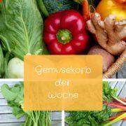 Gemüsekorb der Woche