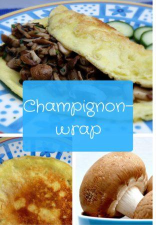 Champignonwrap