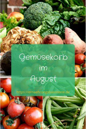 Obst und Gemüse im August