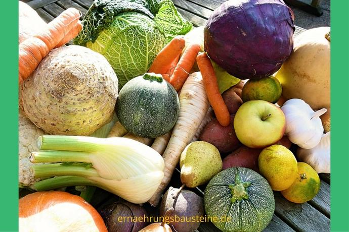Bunte Gemüsevielfalt im Oktober