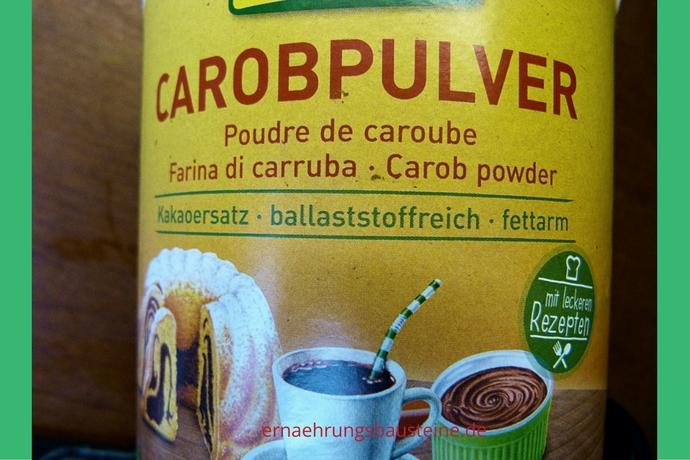 Carob als koffeinfreier Kakaoersatz
