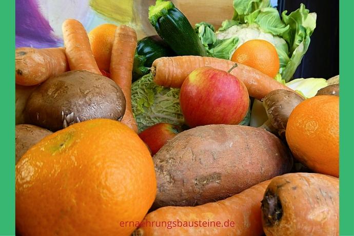 Gemüse- und Obstvielfalt im Januar