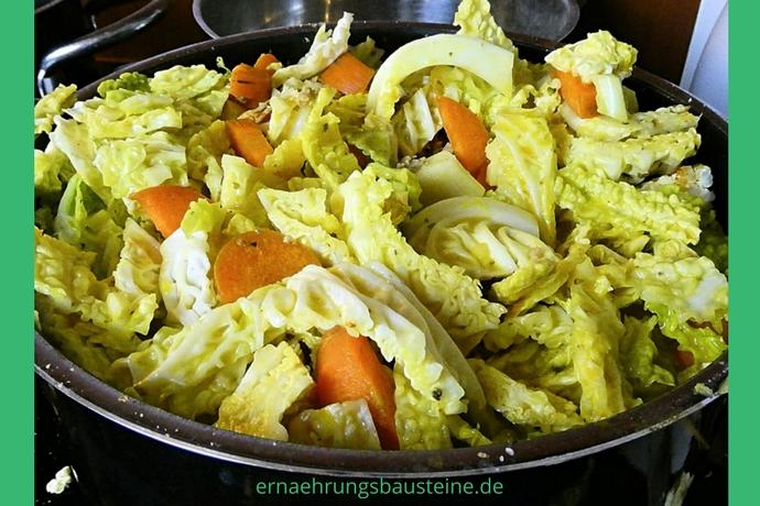 Gemüse für den wärmenden Wintereintopf
