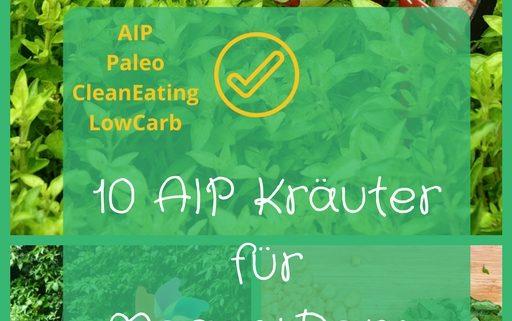 AIP geeignete Kräuter